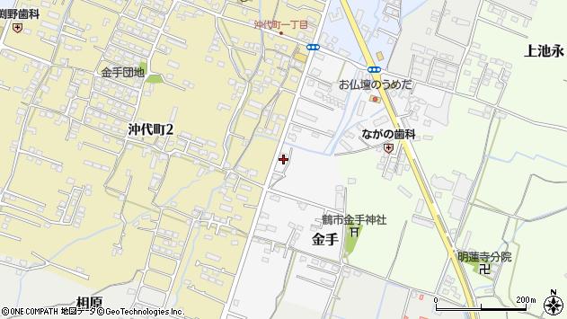大分県中津市金手104周辺の地図