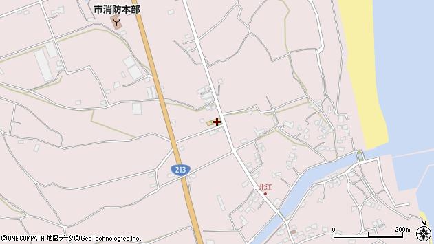 大分県国東市国東町北江3126周辺の地図