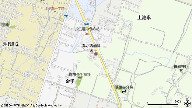 大分県中津市上池永1283周辺の地図