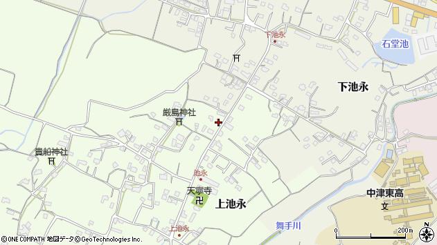 大分県中津市上池永394周辺の地図