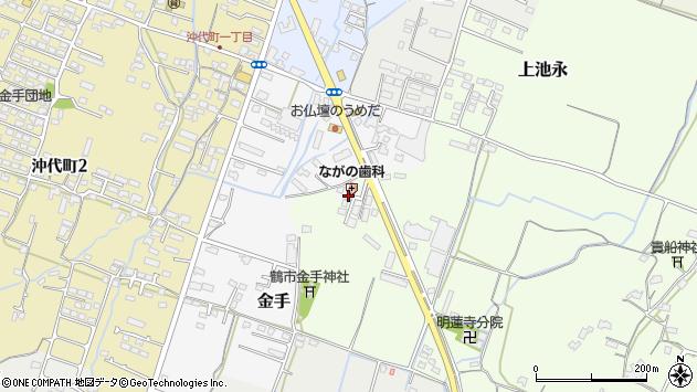 大分県中津市上池永1280周辺の地図