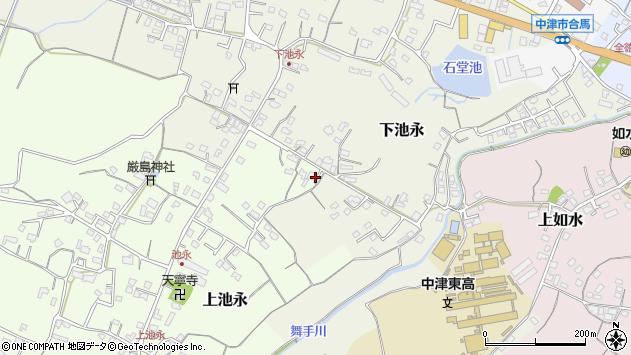 大分県中津市上池永294周辺の地図