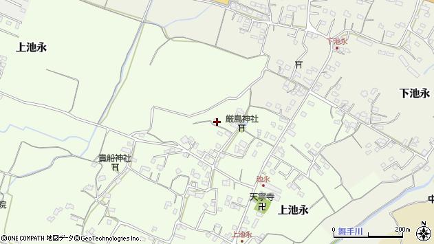 大分県中津市上池永968周辺の地図