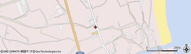 大分県国東市国東町北江3127周辺の地図
