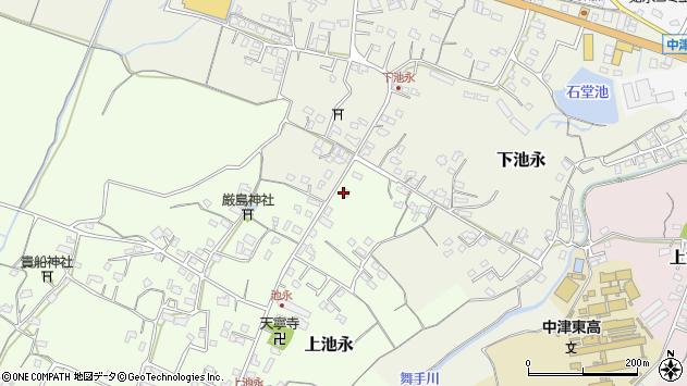 大分県中津市上池永310周辺の地図