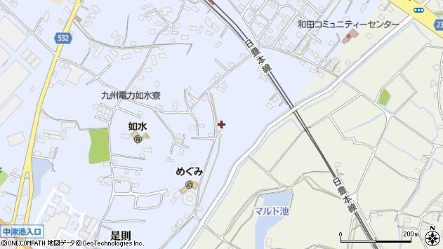 大分県中津市是則1210周辺の地図