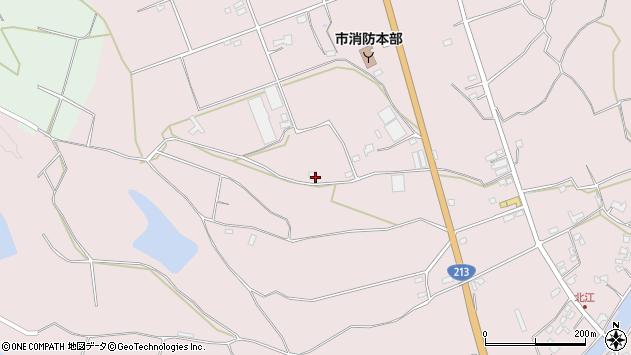大分県国東市国東町北江3186周辺の地図