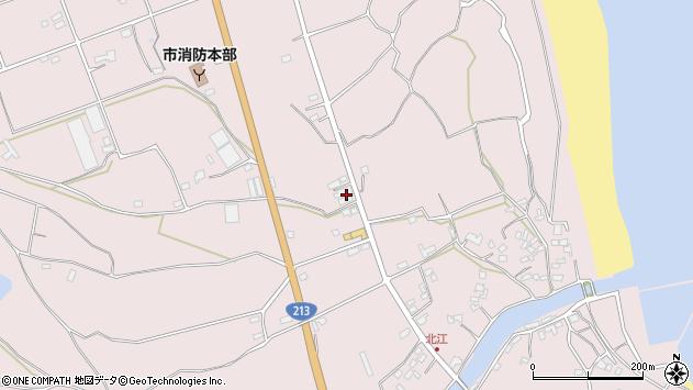大分県国東市国東町北江3131周辺の地図