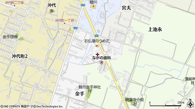 大分県中津市金手10周辺の地図