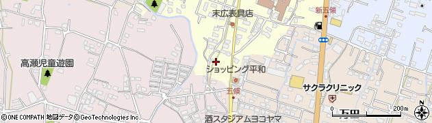 大分県中津市上宮永319周辺の地図