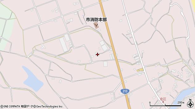 大分県国東市国東町北江3195周辺の地図