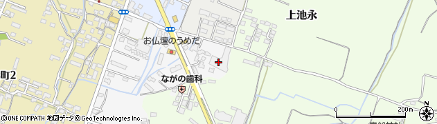 大分県中津市金手2周辺の地図