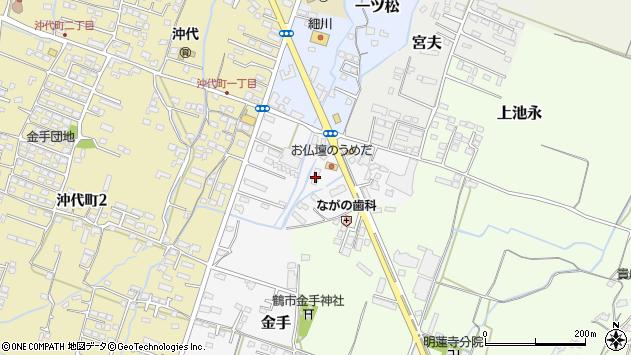 大分県中津市金手33周辺の地図