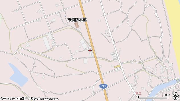 大分県国東市国東町北江3671周辺の地図