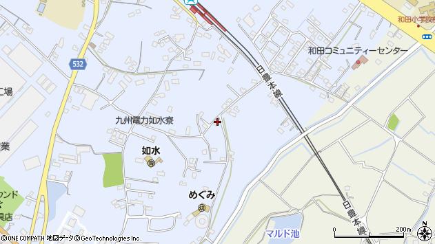大分県中津市是則1214周辺の地図