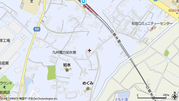 大分県中津市是則1215周辺の地図