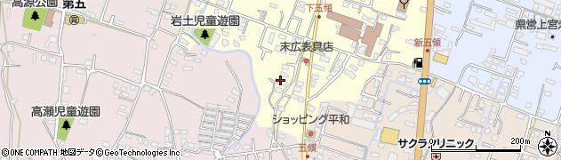 大分県中津市上宮永930周辺の地図
