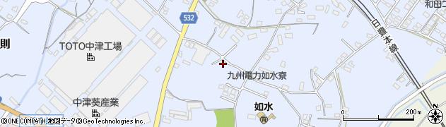 大分県中津市是則1014周辺の地図