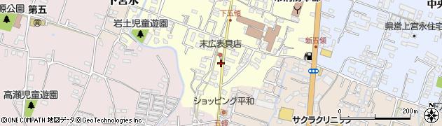 大分県中津市上宮永311周辺の地図