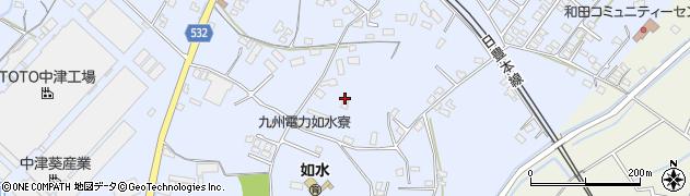 大分県中津市是則1003周辺の地図