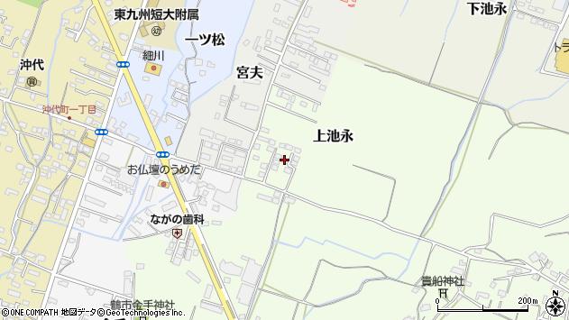 大分県中津市上池永1212周辺の地図