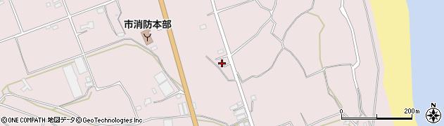 大分県国東市国東町北江3152周辺の地図