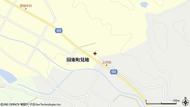 大分県国東市国東町見地671周辺の地図