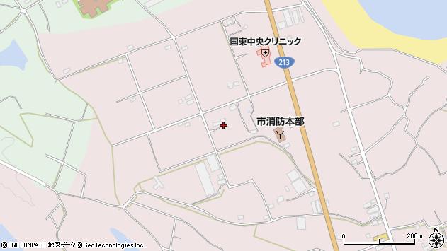 大分県国東市国東町北江3216周辺の地図