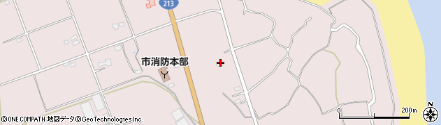 大分県国東市国東町北江3157周辺の地図