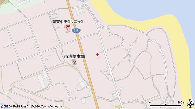 大分県国東市国東町北江3158周辺の地図