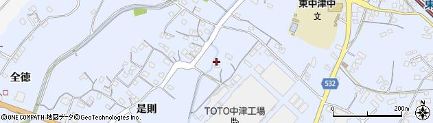 大分県中津市是則590周辺の地図