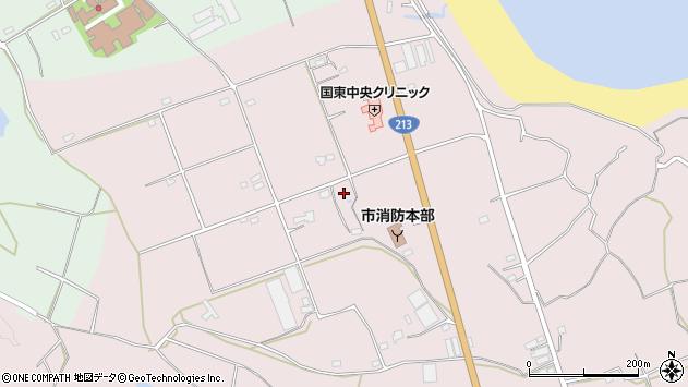 大分県国東市国東町北江3217周辺の地図