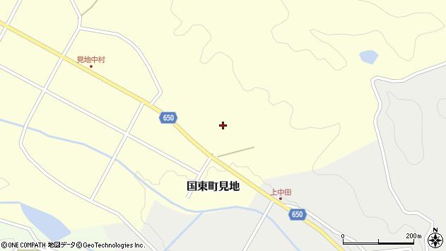 大分県国東市国東町見地2078周辺の地図