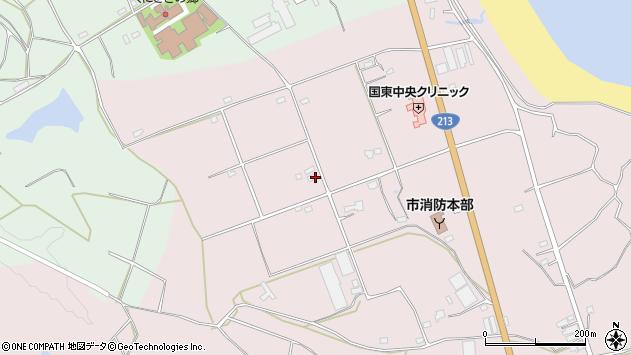 大分県国東市国東町北江3231周辺の地図