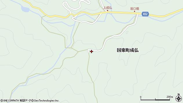 大分県国東市国東町成仏2368周辺の地図