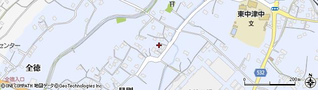 大分県中津市是則233周辺の地図
