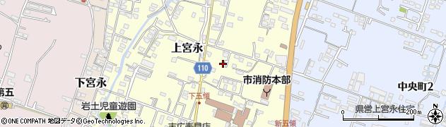 大分県中津市上宮永290周辺の地図