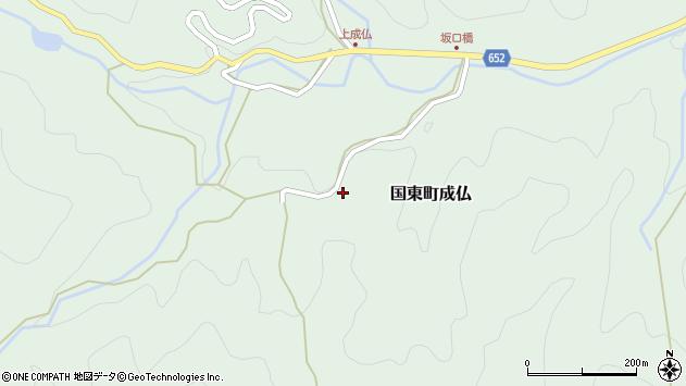 大分県国東市国東町成仏2356周辺の地図