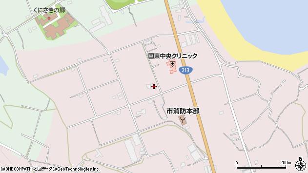 大分県国東市国東町北江3236周辺の地図