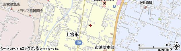 大分県中津市上宮永284周辺の地図