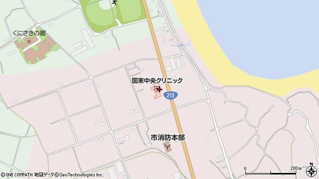 大分県国東市国東町北江3245周辺の地図