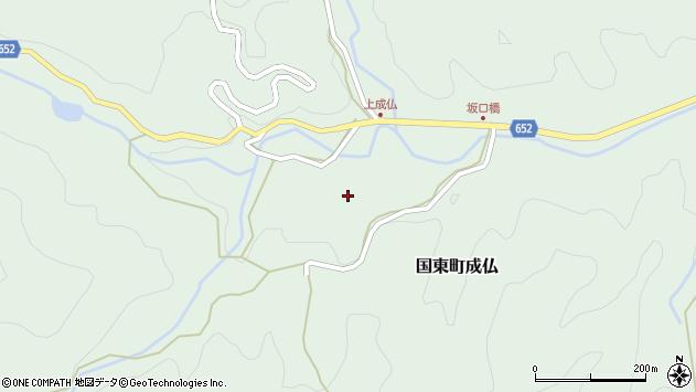 大分県国東市国東町成仏2239周辺の地図