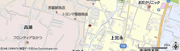 大分県中津市上宮永1273周辺の地図