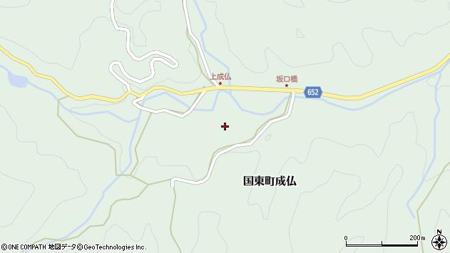 大分県国東市国東町成仏2217周辺の地図