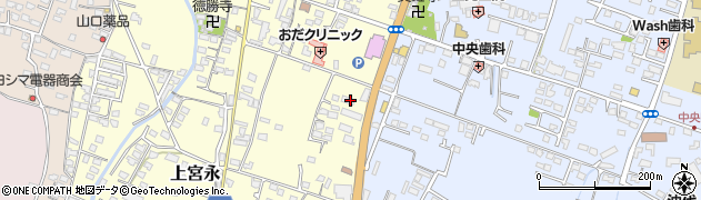 大分県中津市上宮永398周辺の地図