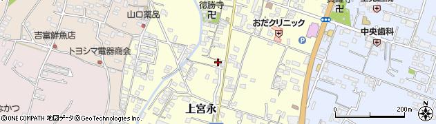 大分県中津市上宮永1068周辺の地図