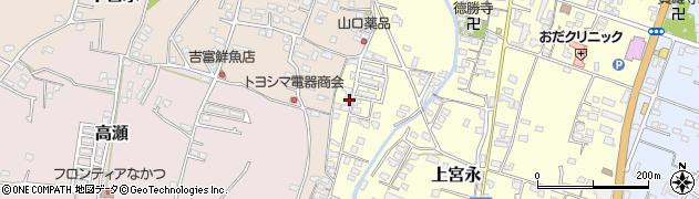 大分県中津市上宮永1268周辺の地図