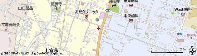 大分県中津市上宮永399周辺の地図