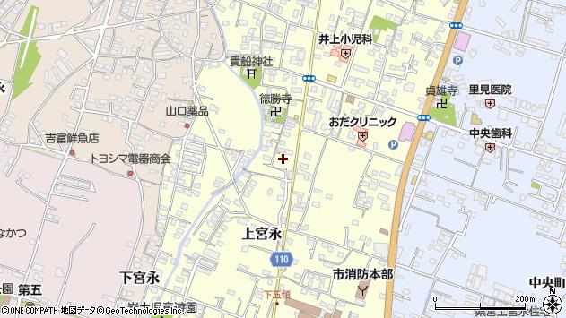 大分県中津市上宮永1071周辺の地図