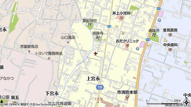 大分県中津市上宮永1063周辺の地図